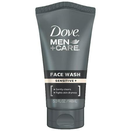 Men Liquid Face Wash - Dove Men+Care Face Wash Sensitive Plus 5 oz