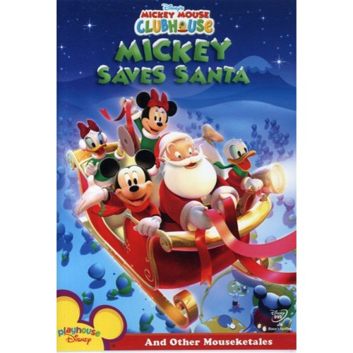 Mickey Mouse Clubhouse: Mickey Saves Santa And Other Mouseketales (Full Frame)