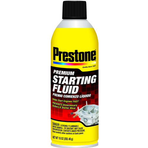 Prestone Starting Fluid