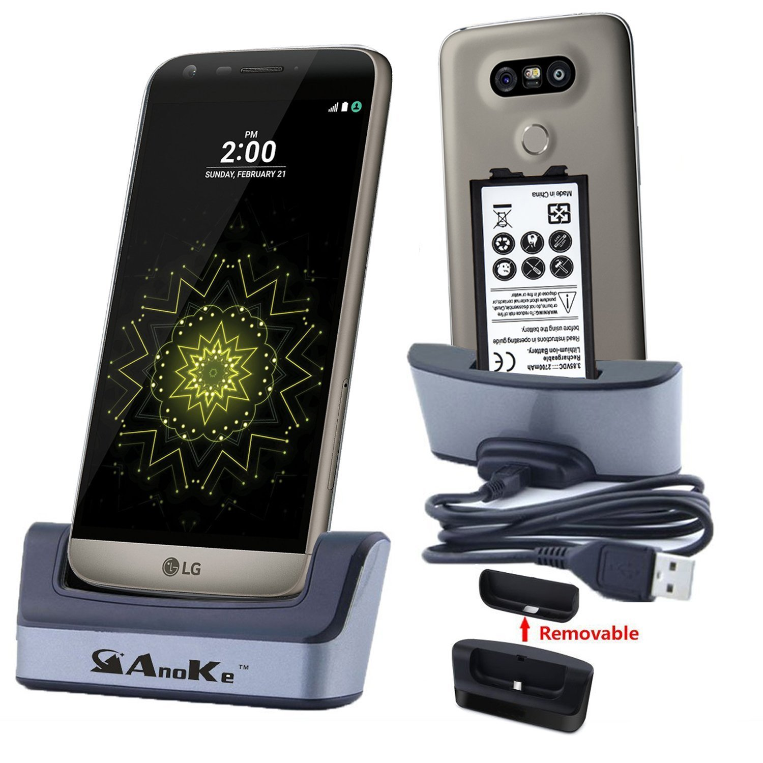 Lg G5 Charger Battery Charging Station Usb 3 0 Desktop Docking Cradle Pad Support Spare For Mobile Cell