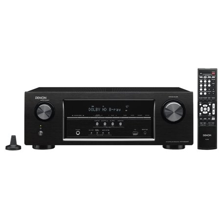 Denon AVR-S500BT 5.2 Channel Full 4K Ultra HD A/V Receiver with Bluetooth