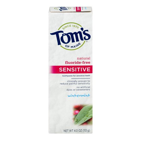 Tom's Of Maine Sensitive Toothpaste Wintermint, ...