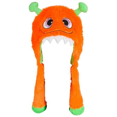 Halloween Character Cute Orange Monster Plush Hat Costume Accessory](Cute Halloween Chibis)