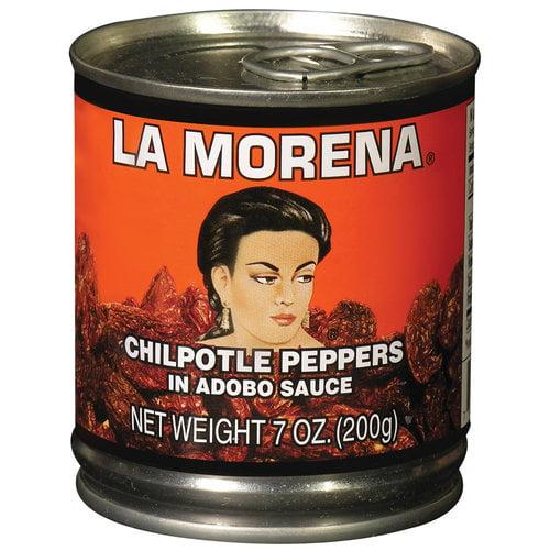 La Morena Chipolte Peppers in Adobo Sauce, 7 oz