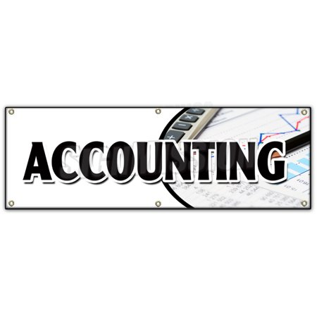 72  Accounting Banner Sign Tax Return Preparation Cpa Refund Accountant