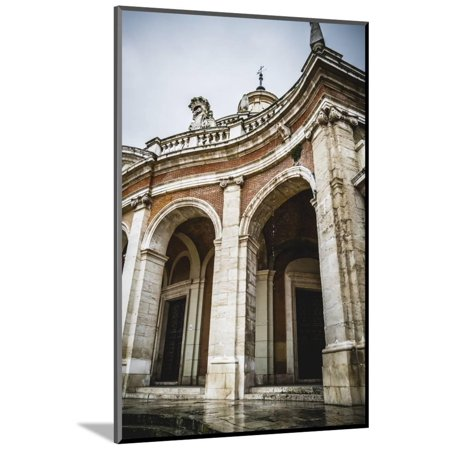 Church of San Antonio. Palace of Aranjuez, Madrid, Spain.World Heritage Site by UNESCO in 2001 Wood Mounted Print Wall Art By outsiderzone ()