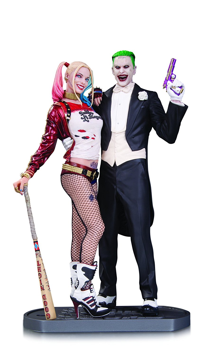 DC Collectibles Suicide Squad Movie: The Joker and Harley Quinn Statue by DC Collectibles