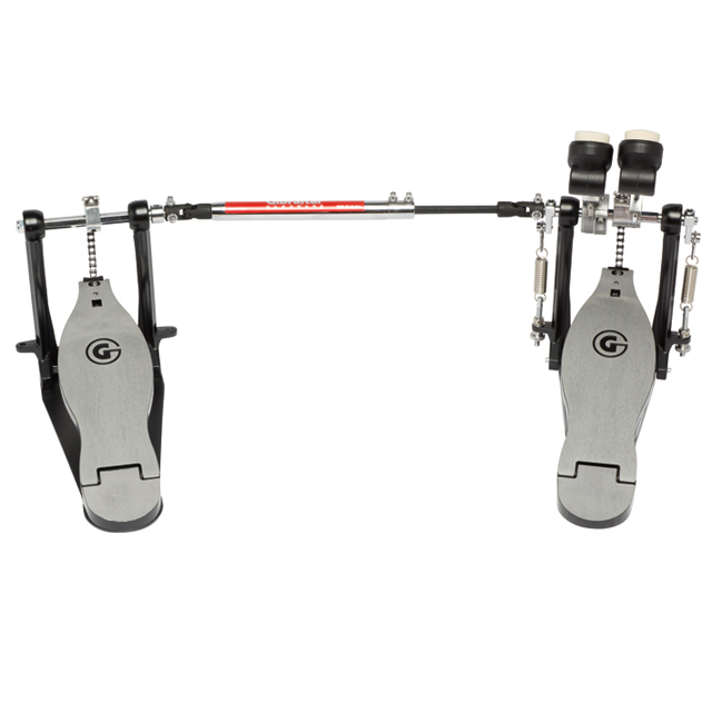 Gibraltar 4711SC-DB Double Bass Drum Pedal Chain Drive by DW WORKSHOP