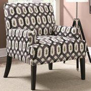 A Line Furniture Barcelona LaBarca Design Geometric Patterned Accent Chair