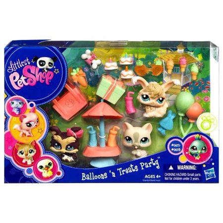 Littlest Pet Shop Balloons 'N Treats Party - Lps Decorations