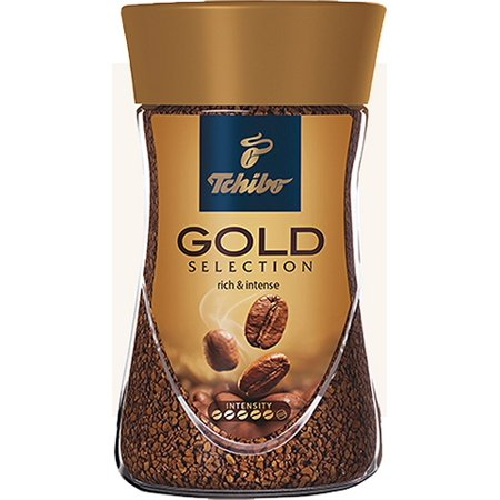tchibo gold selection instant coffee 7oz 200g. Black Bedroom Furniture Sets. Home Design Ideas