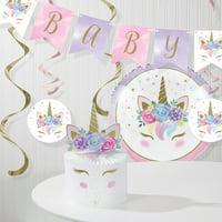 Unicorn Baby Shower Decorations Kit