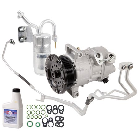 AC Compressor w/ A/C Repair Kit For Dodge Caliber & Jeep Compass (Compass Repair Kit)