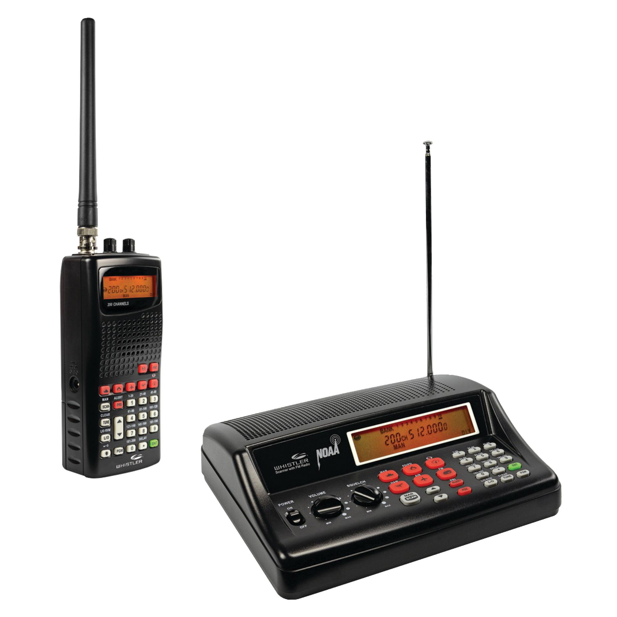 Whistler WS1025 Analog Desktop Radio Scanner & WS1010 Analog Handheld Radio Scanner 1010