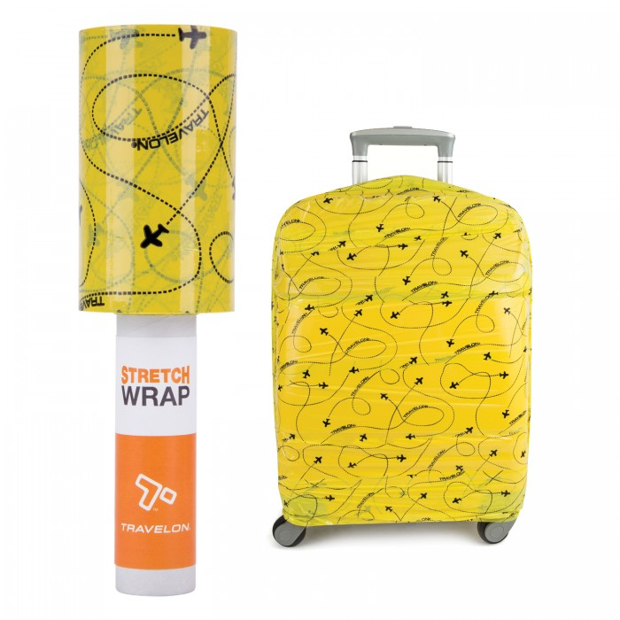 Travelon Stretch Wrap-Yellow Print Stretch Wrap