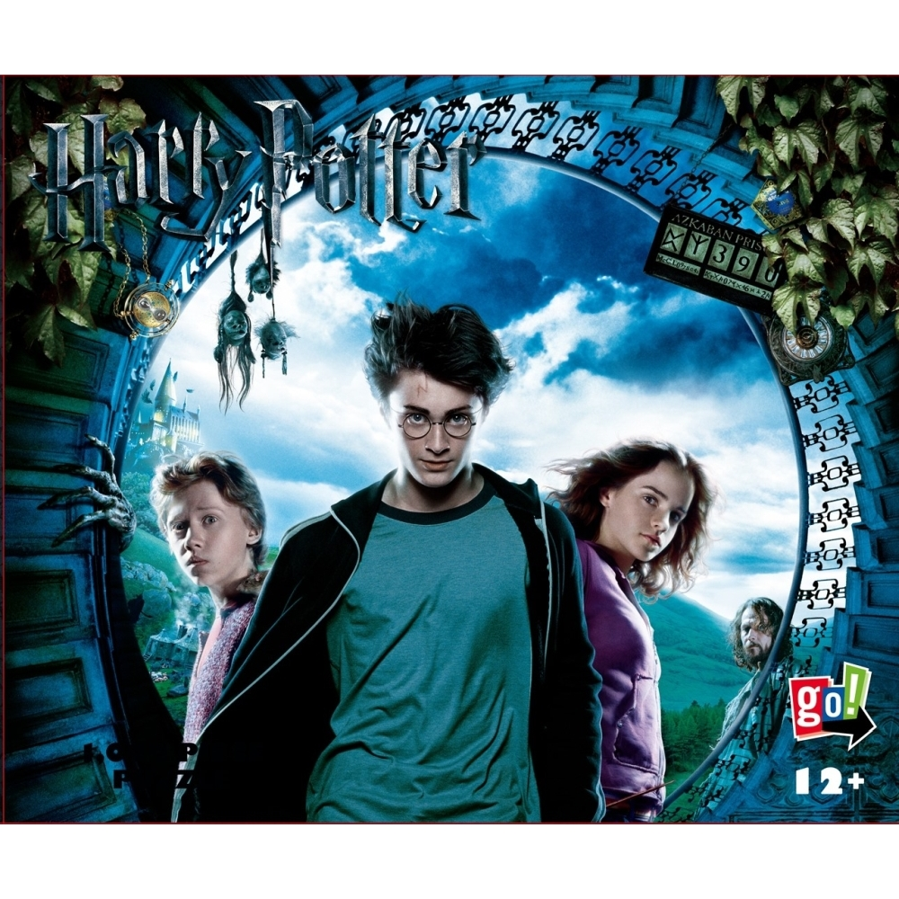 GC HP Escape from Azkaban 1000 Piece Puzzle,  Harry Potter by Go! Games