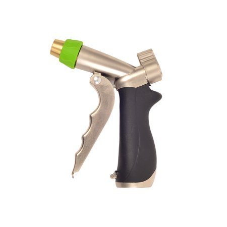 - Greenworks Premium Spray Brass Nozzle with Trigger Grip and Adjustable Nozzle Tip Spray Pattern 80004602