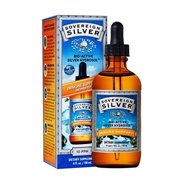 Natural Immunogenics Sovereign Bio-Active Silver Hydrosol for Immune Support Dropper, 10 ppm, 4 oz(118ml)