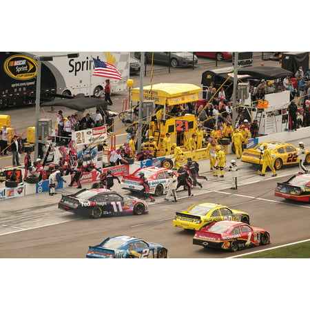 Speedway Nascar Picture - LAMINATED POSTER Speedway Speed Motor Race Car Sport Nascar Poster Print 24 x 36