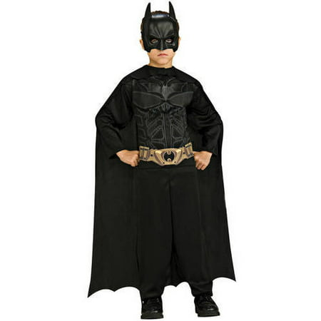 Batman Dark Knight Child Jumpsuit Halloween Costume (Kids Batman Dark Knight Costume)