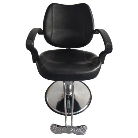 Equipment Hydraulic Styling Chairs - Zimtown Classic Hydraulic Barber Chair Salon Beauty Spa Styling Equipment Black