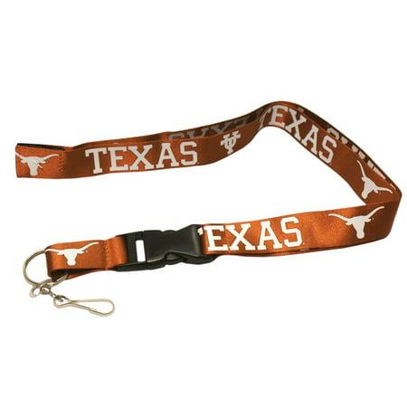 Texas Longhorns Ncaa Breakaway Lanyard W Key Ring Pro Specialties Group 209945