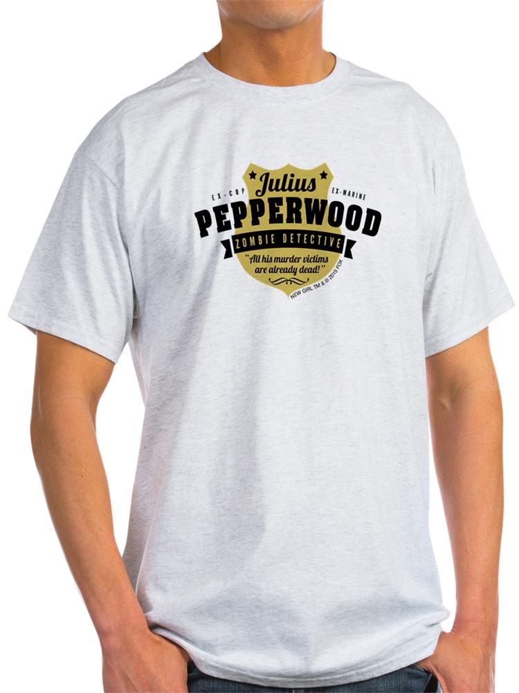 617ef5a54 CafePress - CafePress - New Girl Julius Pepperwood - Light T-Shirt - CP -  Walmart.com