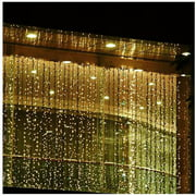 300 LED Curtain Light, Warm White, 3m x 3m