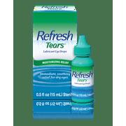 Refresh tears lubricant eye drops, 0.5 oz