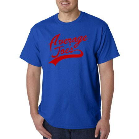 811 - Unisex T-Shirt Average Joe's Dodgeball True Underdog Costume 2XL Royal Blue - Dodgeball Costume