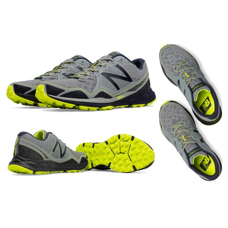 New Balance Mt910gy3 Mens Trail Running Shoes  Grey With Yellow