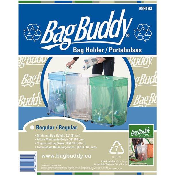 Bag Buddy 33 Gal Steel Trash