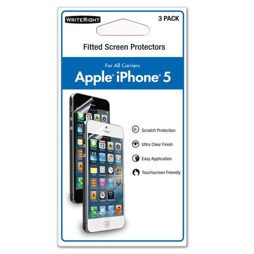 Fellowes WriteRight Iphone 5 Screen Protectors
