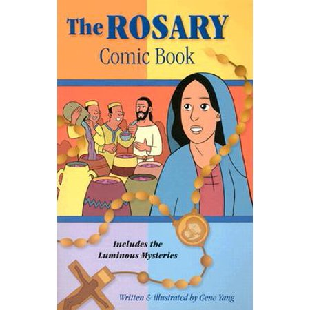 Rosary Comic Book : Includes the Luminous Mysteries - Halloween Comic Books