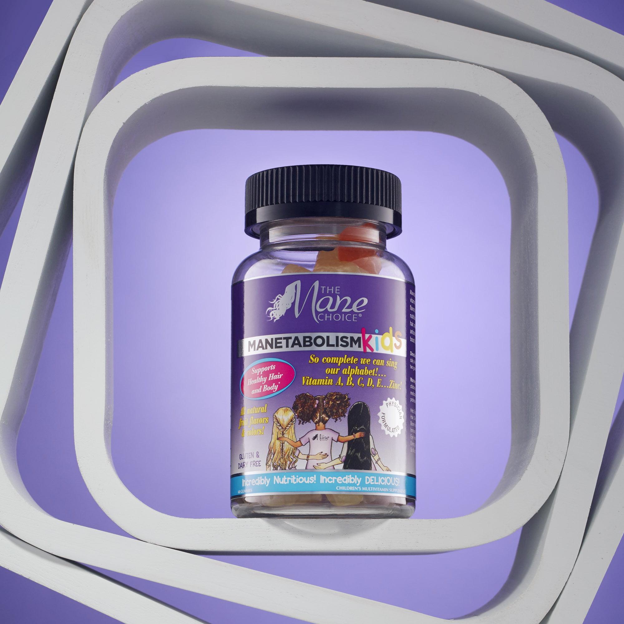 The Mane Choice Manetabolism KIDS Healthy Hair Growth Gummy Vitamin 60Btl