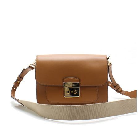 5235087151cffa Michael Kors Acorn Gold Sloan Editor Large Leather Shoulder Bag -  Walmart.com