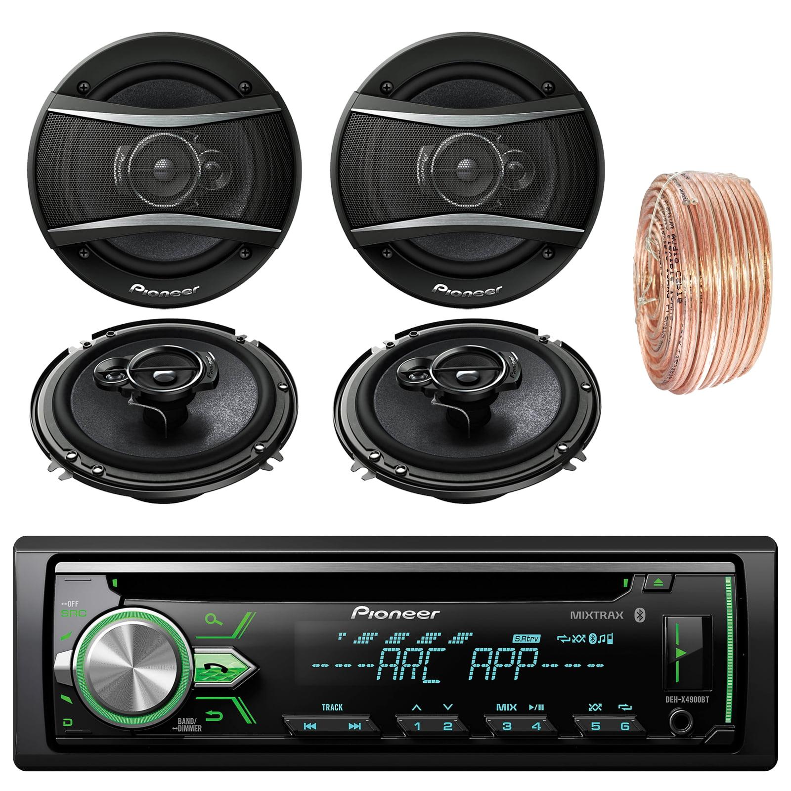 Pioneer DEH-X4900BT Car Bluetooth Radio USB AUX CD Player...