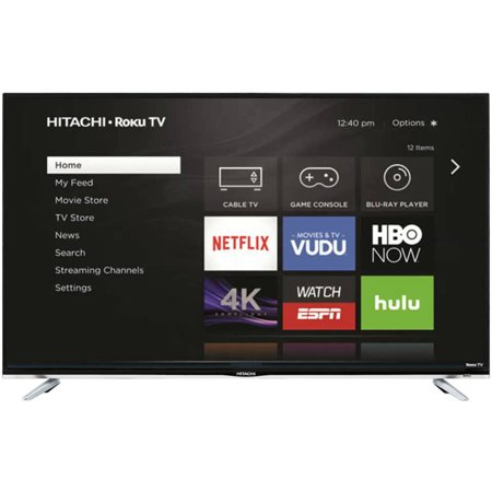 "Hitachi Roku 43"" Class - Full HD, Smart, LED TV - 1080p, 60Hz (43R50)"