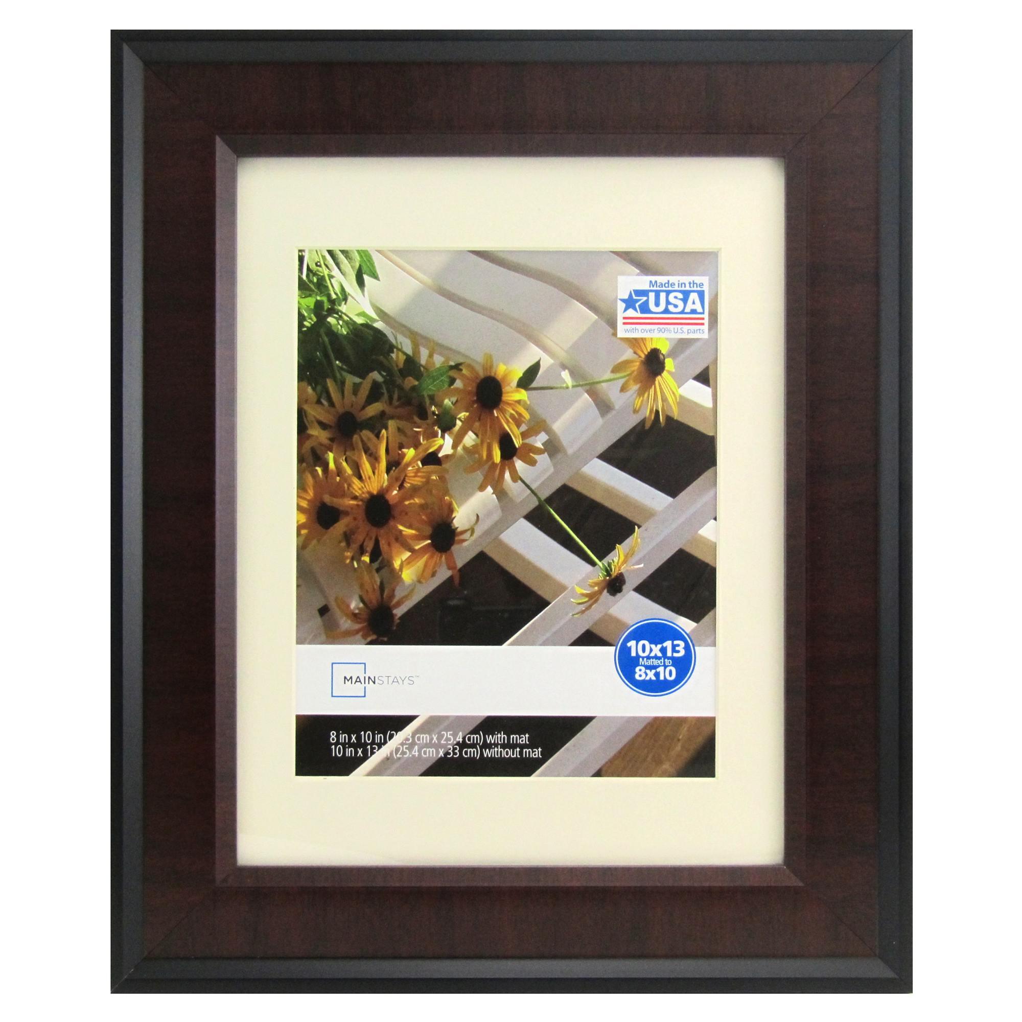 Mainstays Black And Cherry 10x13 Picture Frame Walmartcom