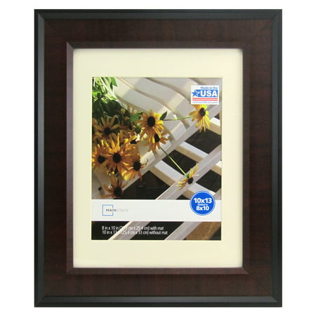 Mainstays Black and Cherry 10x13 Picture Frame