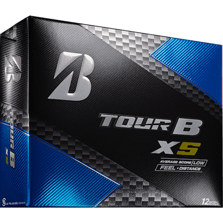 Bridgestone Golf Tour B XS Golf Balls, 12 Pack