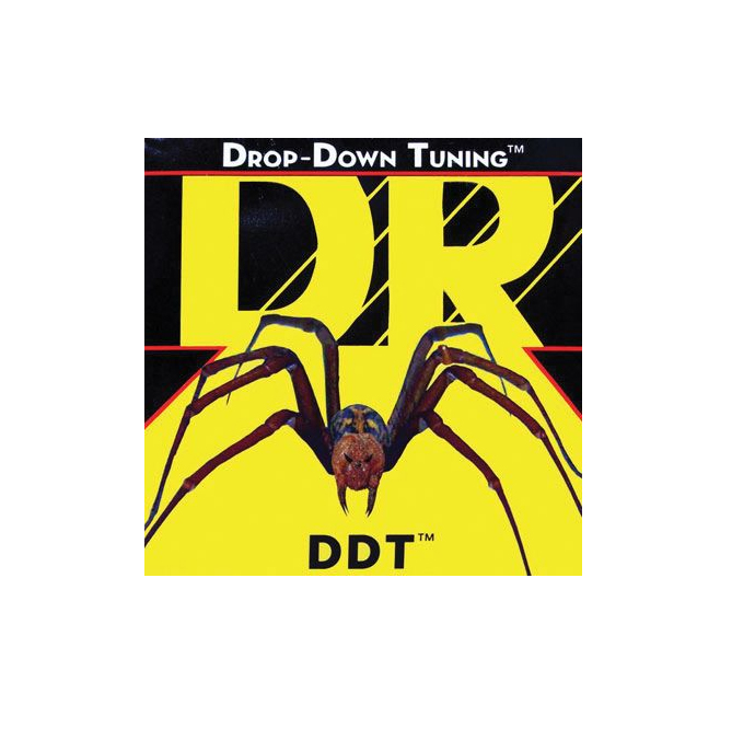 DR Strings DDT-12 12-60 Drop-Down Tuning Electric Guitar Strings by DR Strings