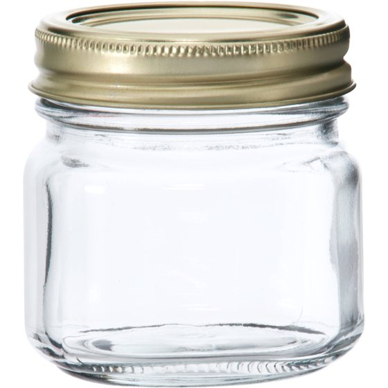 Anchor Hocking Half Pint Glass Canning Jar Set 12pk