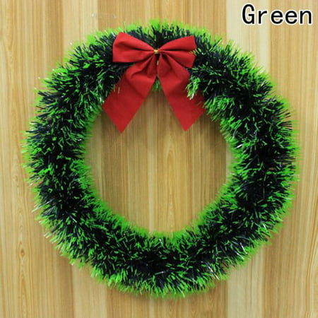 KABOER New Hand-Crafted Christmas Door Decoration Window Hanging Ornament Xmas Tree Garland Bell ()