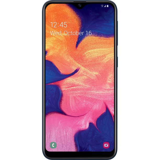Simple Mobile Samsung Galaxy A10E, 32 GB Black  Prepaid Smartphone