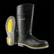 Dunlop 8990410 15 in. Mens Polyflex 3 Plain Toe Knee Boots, Size 10