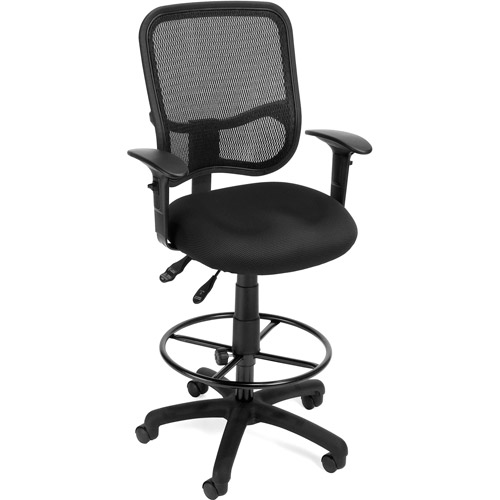 OFM Mesh Back Ergonomic Task Chair with Arms and Drafting Kit