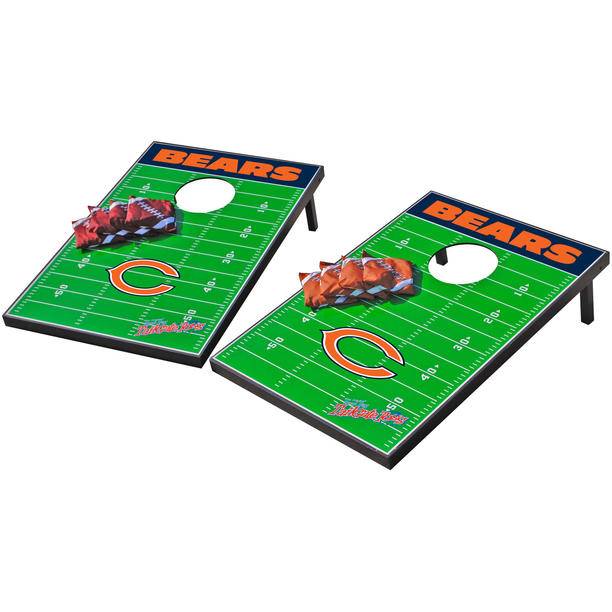 Wild Sports NFL Chicago Bears 2x3 Field Tailgate Toss