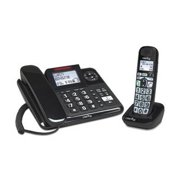"""""""Clarity E814CC DECT 6.0 Expandable Corded - Cordless Phones with 40dB Amplification, Caller ID and Digital Answering System"""""""