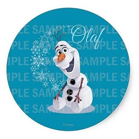 Frozen Olaf Birthday Edible Image Photo 8